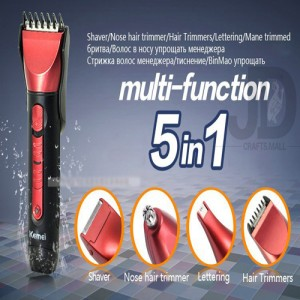 5in1 Shaver Rechargeable (KM-8058)